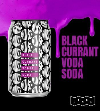 RINSE BLACKCURRENT 10PK CANS RINSE BLACKCURRENT 10PK CANS