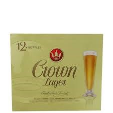 crown lager 12pk btls crown lager 12pk btls
