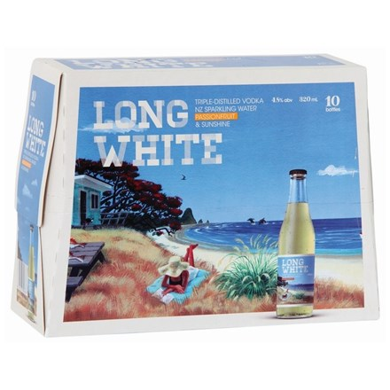 LONG WHITE PASSION 10PK BTLS LONG WHITE PASION 10 PK