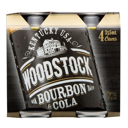 WOODSTOCK 7% 6X4PK 355ML CANS WOODSTOCK 7% 6X4PK 355ML CANS