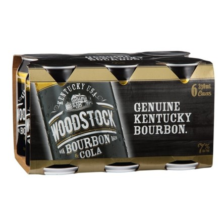 WOODSTOCK 7% 4X6PK 330ML CANS WOODSTOCK 7% 4X6PK 330ML CANS