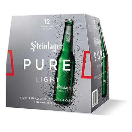 steinlager pure light 12 btls steinlager pure light 12 btls
