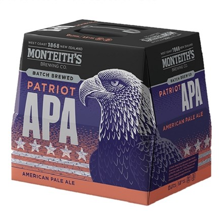 Monteith american pale ale 12pk btls Monteith american pale ale 12pk btls